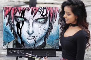 Meet the painter who brings your anime heroes to life